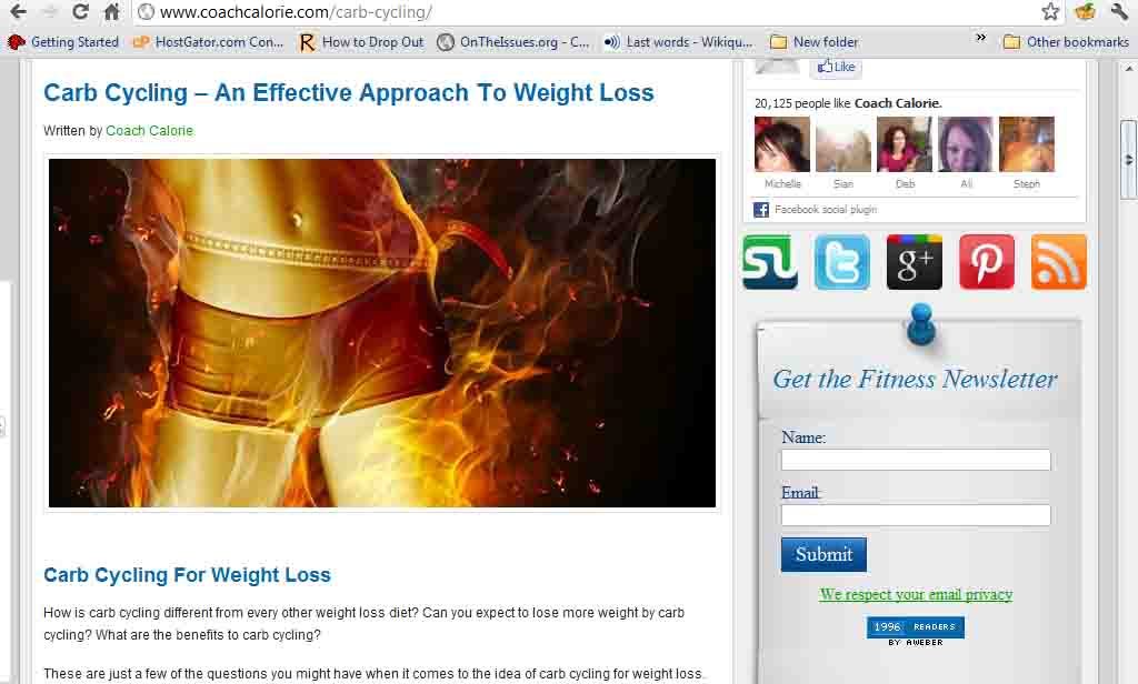 Coach Calorie: Carb Cycling – An Effective Approach To Weight Loss