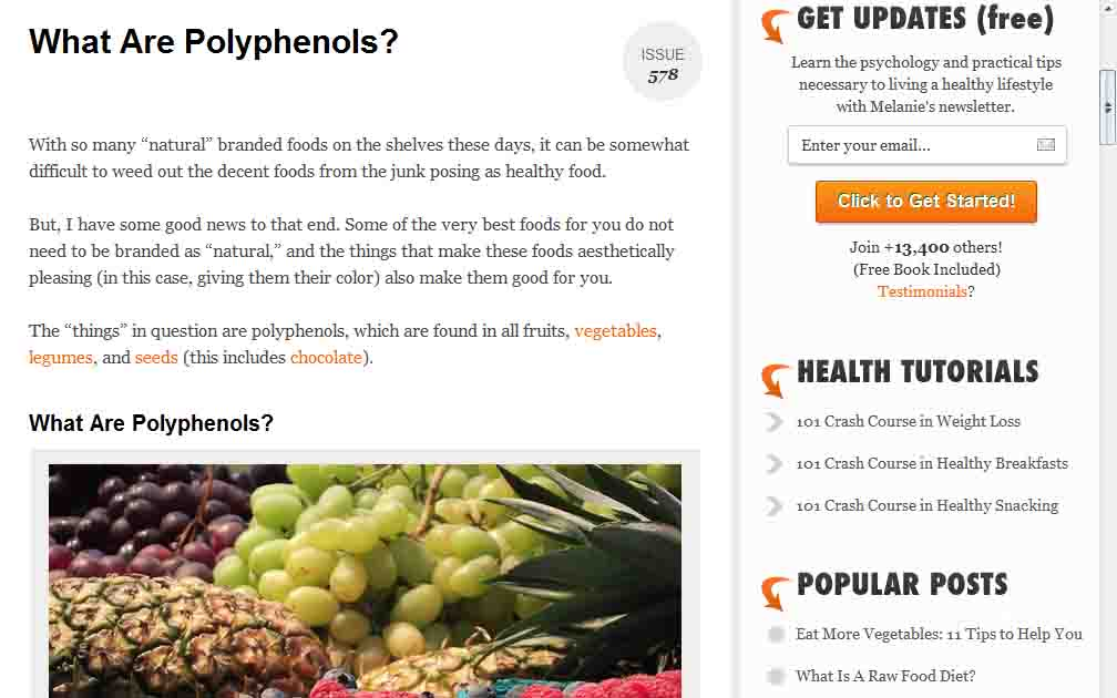 Dietriffic: What Are Polyphenols?