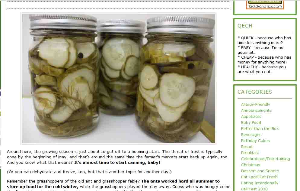 Quick and Easy Cheap and Healthy: How to Get Canning Supplies for Cheap or Free